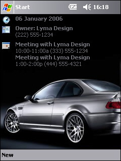 free Free BMW Theme 1 for windows mobile phone