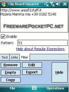 Enhance Your Windows Mobile clipboard functionalities with free tool