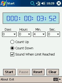 free Counter Timer 1.0.1741 for windows mobile phone
