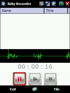 audio recorder freeware downloads for Windows Mobile Phone