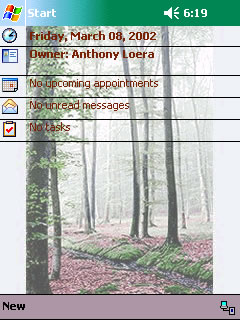 free Forrest Theme - Free 1.0 for windows mobile phone