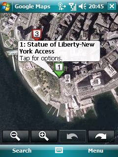 Google Maps Mobile v4.10 freeware for Windows Mobile Phone. on