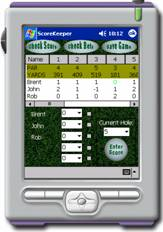 free Hit Em Straight Golf Scorecard 1.0 for windows mobile phone