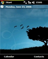 free Peace theme for windows mobile phone