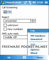 free PhoneGate 2003 v1.3 for windows mobile phone