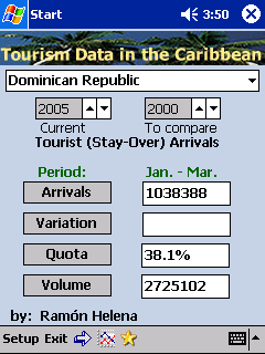 free Tourism Data in the Caribbean 0.5 for windows mobile phone