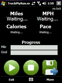 free TrackMyRun for windows mobile phone