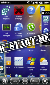 free WinStart BETA  for windows mobile phone