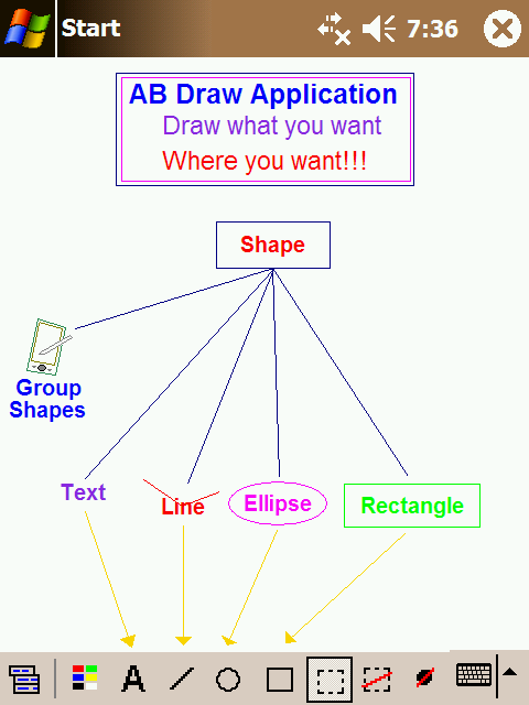free AB Draw Lite 2.0 for windows mobile phone