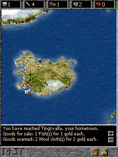free A Viking Saga 1.0 for windows mobile phone