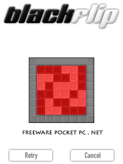 BlackFlip is a Polarium clone, an easy to play (but hard to finish) puzzle game perfectly suited for stylus play.