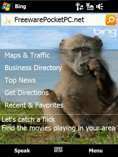get directions, map, weather, movies for your location