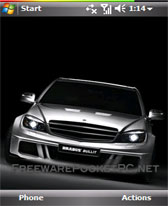 free Brabus Bullit theme skin for windows mobile phone