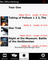 free Cinemo for windows mobile phone