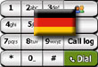 free German language for PhonePlus III v1.00 for windows mobile phone