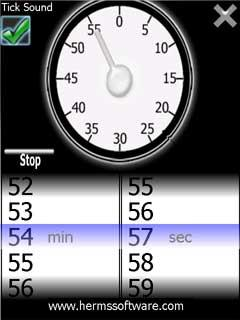 free EggTimer for windows mobile phone