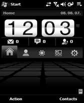 free empax DIAMOND theme for windows mobile phone