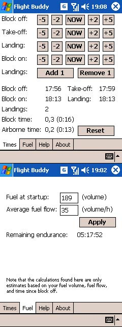 free Flight Buddy 1.0 for windows mobile phone