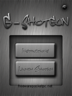 Virtual shotgun application for windows mobile phones