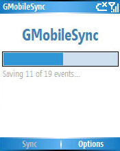 free GMobileSync 1.1 for windows mobile phone