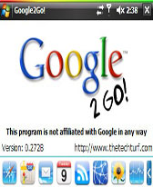free Google2GO! for windows mobile phone