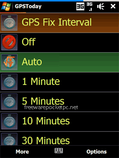 GeoTerrestrial GPSToday is a lightweight today screen plugin that shows your position using a GPS unit.