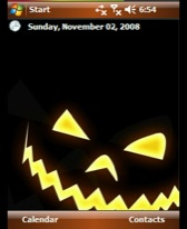 free Halloween theme for windows mobile phone
