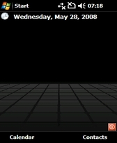 free HTC Diamond theme for windows mobile phone