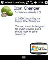 free Icon Changer for windows mobile phone