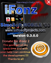 iFonz 2 free download for Windows Mobile phone
