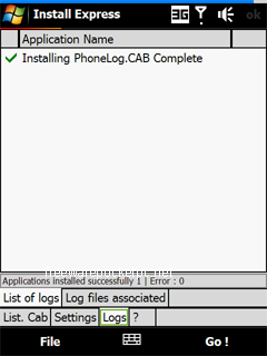 Install Express automates the installation of CAB files.