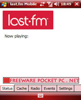 pocket pc Last.fm Mobile v1.4 freeware