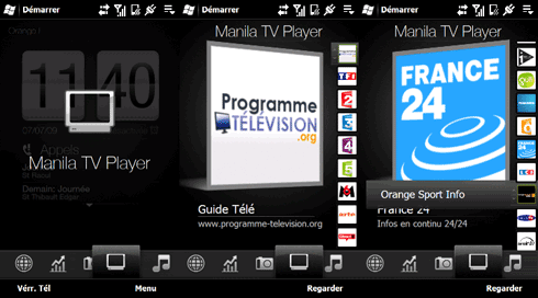 Manila TV PLayer is a tab to add in TF3D & TF3D2