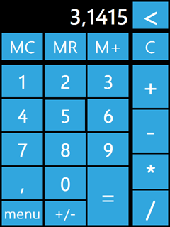free Metro Calculator for windows mobile phone