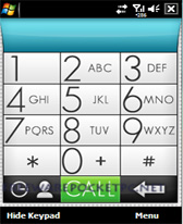 free Minimal Dialer for windows mobile phone