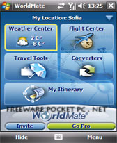 free WorldMate for windows mobile phone