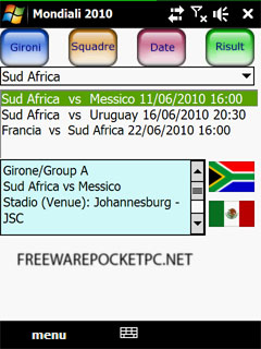 Diary of the World Cup South Africa 2010.