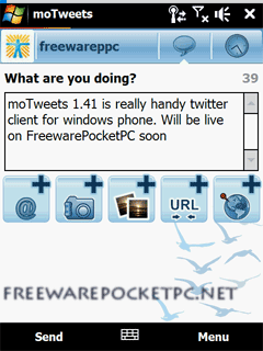 Experience Twitter from your Windows Mobile device!