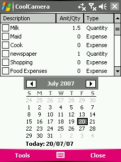 free MyExpenses v1.0 for windows phone