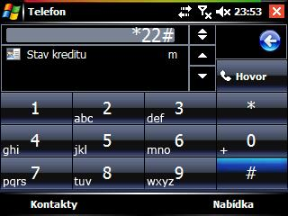 Vista Dialer skin theme freeware for Windows Mobile Phone