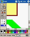 free PDAcraft Paint for windows mobile phone