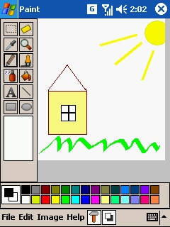 Pdacraft Paint Freeware For Windows Mobile Phone