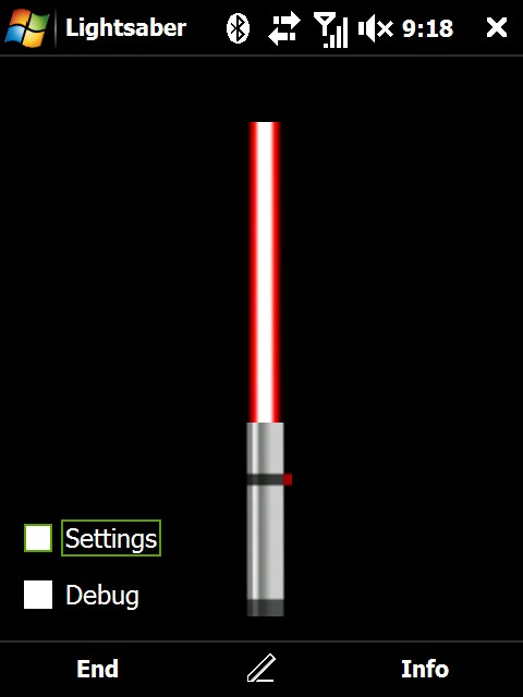 HTC Light Saber free download for Windows Mobile phone
