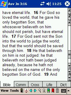 American Standard Version (ASV) Bible 3.66