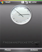 Retro Clock free download for Windows Mobile phone