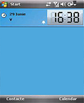 Today screen clock free download for Windows Mobile phone