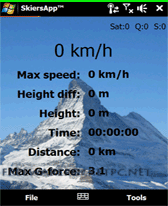 free SkiersApp for windows mobile phone