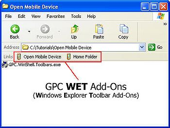 free WET Add-Ons for windows mobile phone