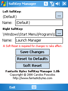 SoftKey manager free download for Windows Mobile phone