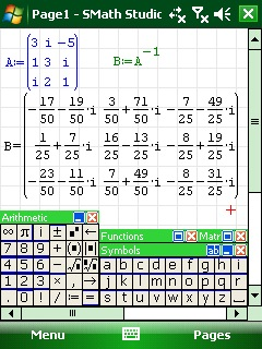 free SMath Studio PPC for windows phone